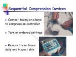 sequential compression devices1