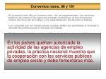 convenios n ms 88 y 18119