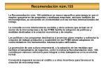 recomendaci n n m 193