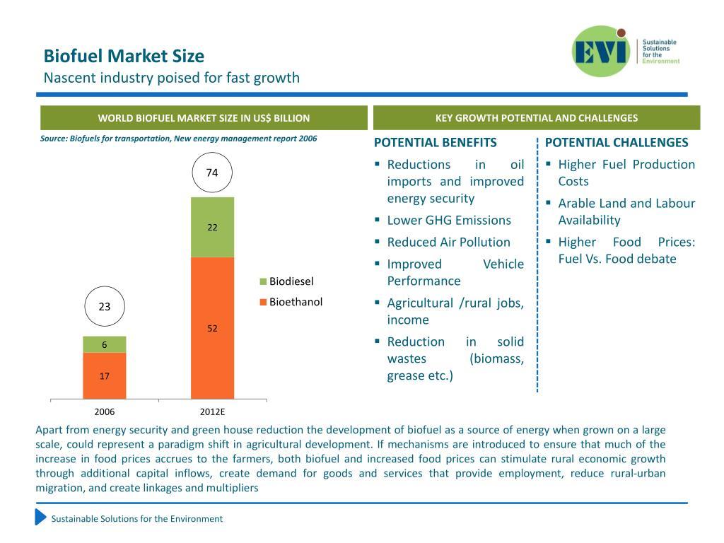 Biofuel Market Size