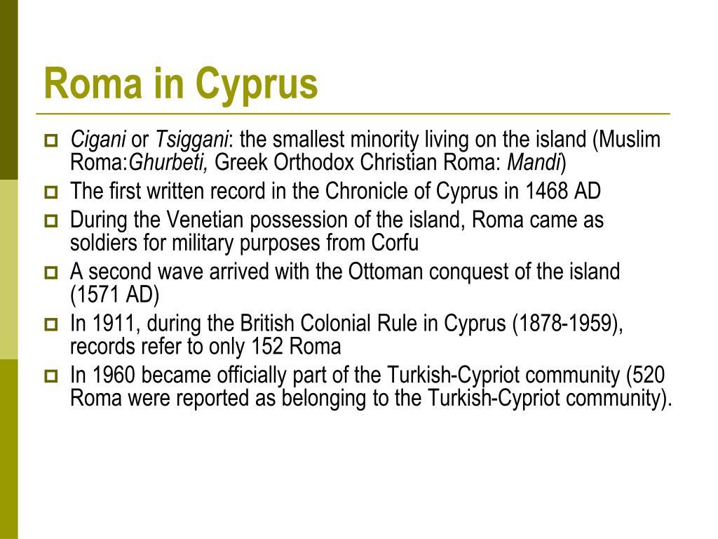 Roma in Cyprus