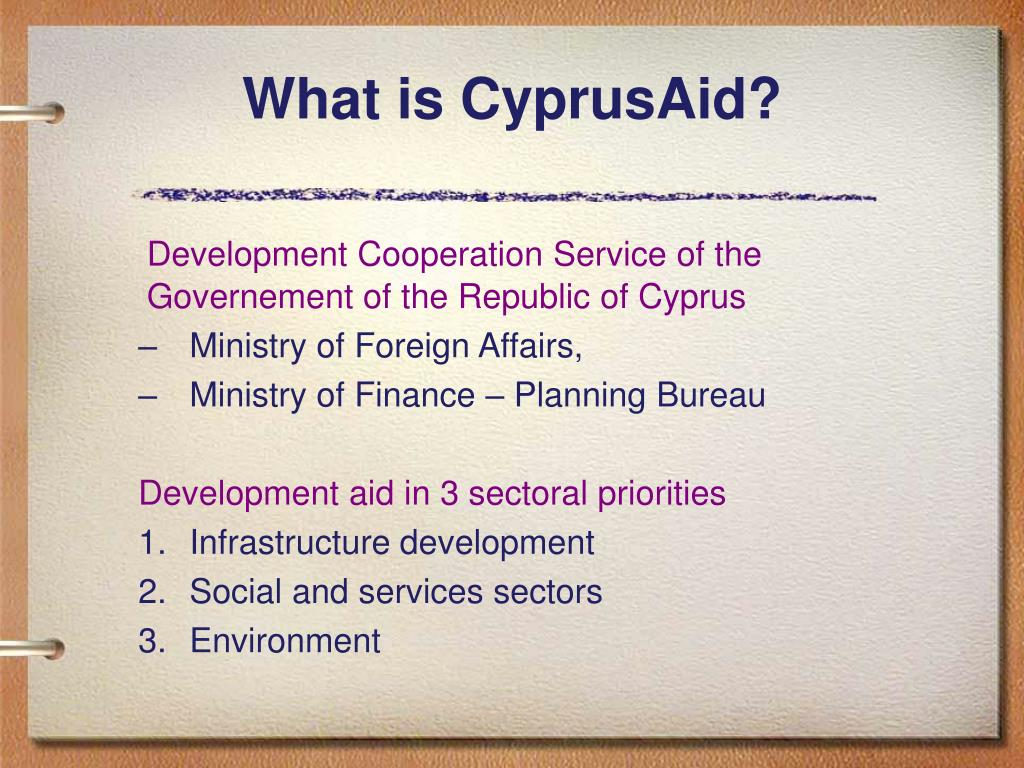 What is CyprusAid?