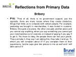reflections from primary data13