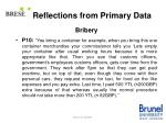 reflections from primary data14