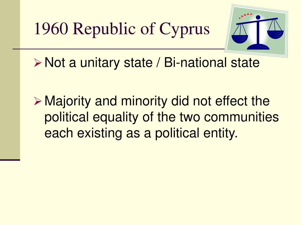 1960 Republic of Cyprus