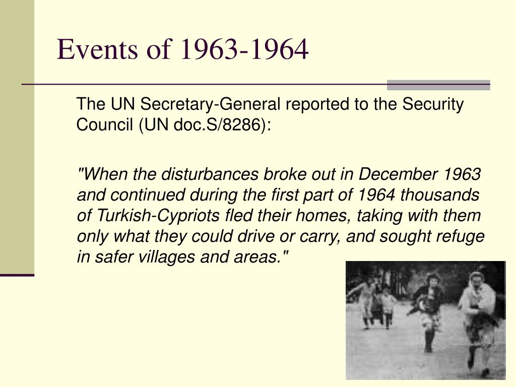 Events of 1963-1964
