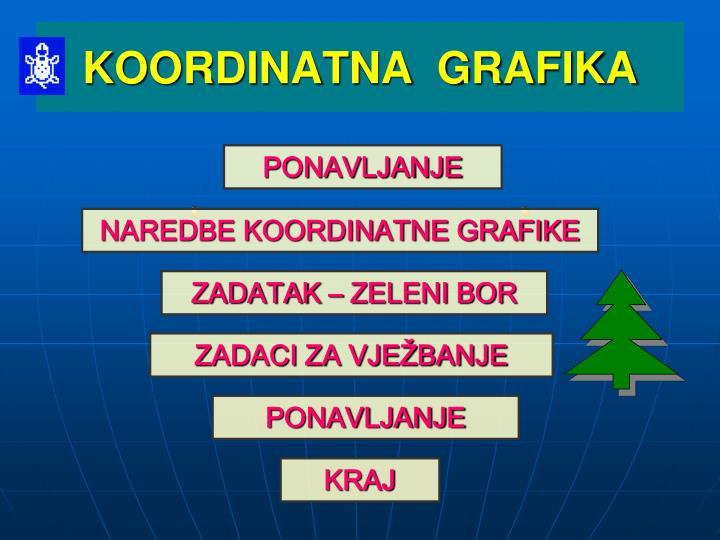 Koordinatna grafika