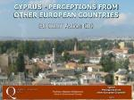 cyprus perceptions from other european countries