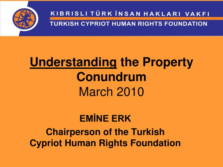 Understanding the property conundrum march 2010
