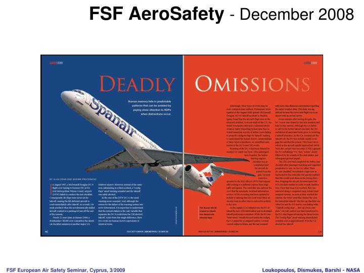 Fsf aerosafety december 2008