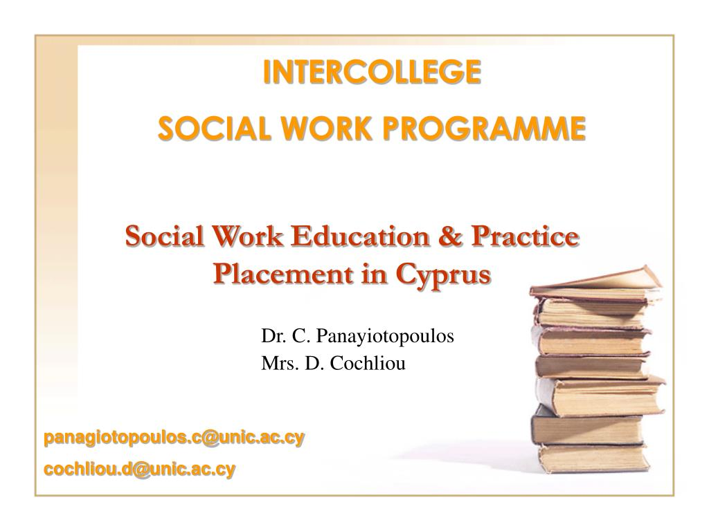 social work education practice placement in cyprus l.