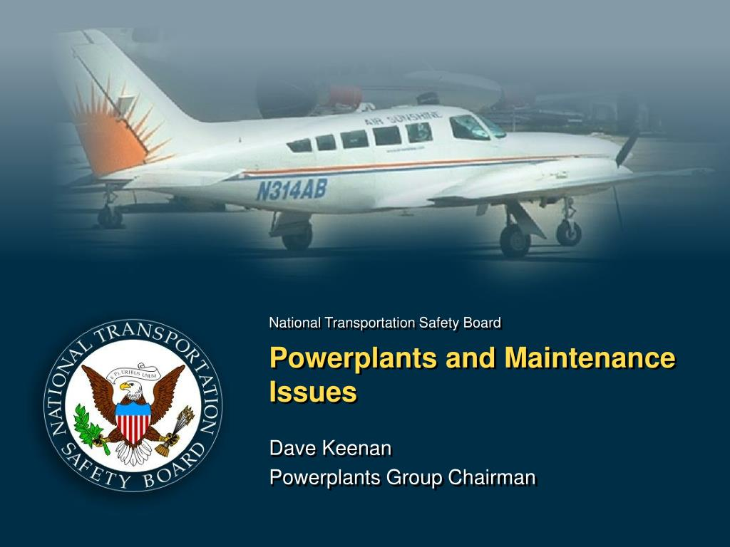 powerplants and maintenance issues l.