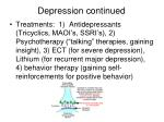 depression continued