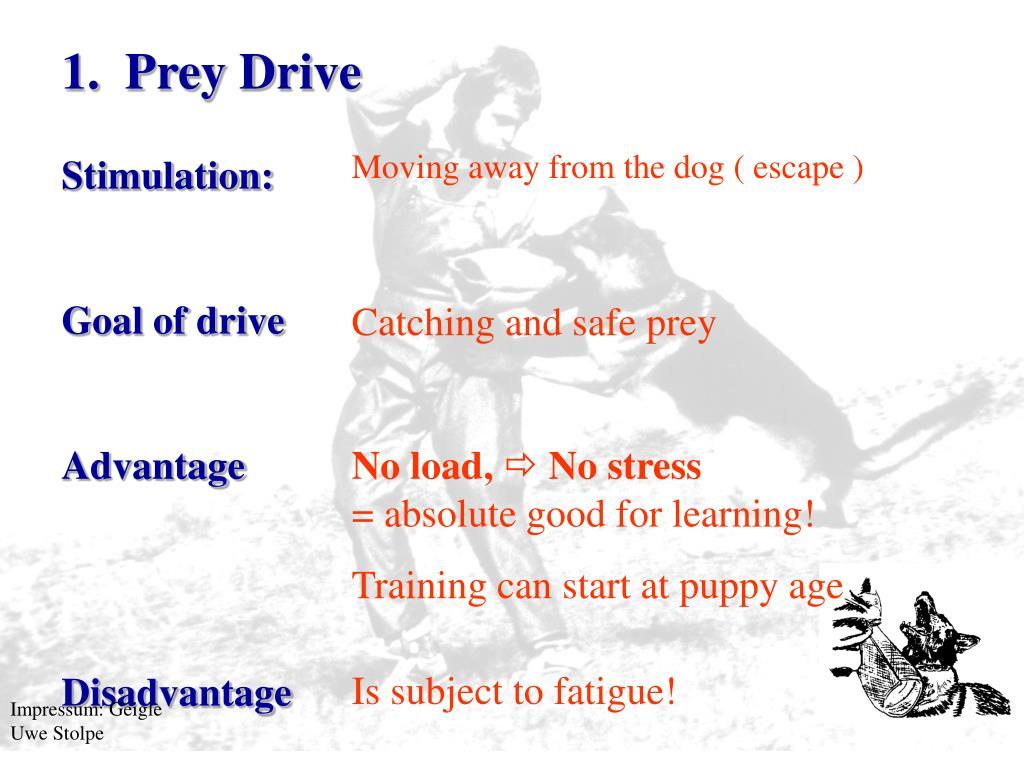 1.Prey Drive