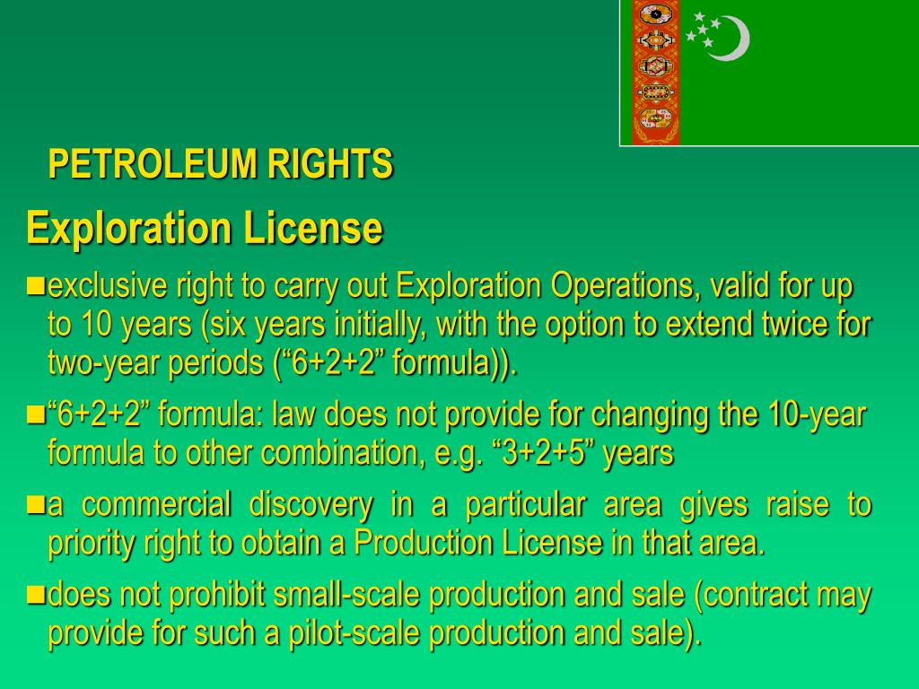 PETROLEUM RIGHTS