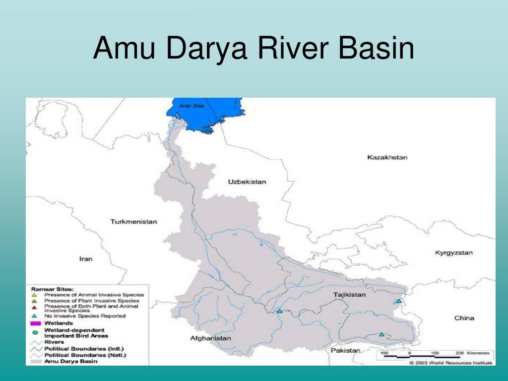 Amu Darya River Basin