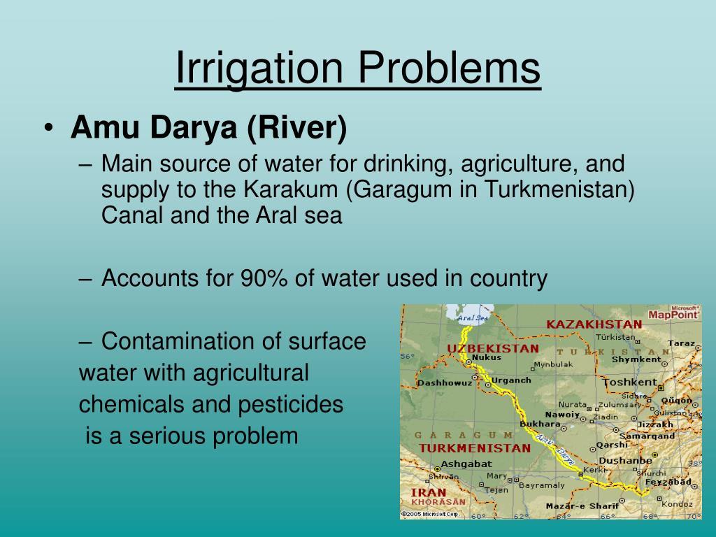 Irrigation Problems