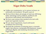 niger delta youth
