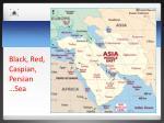 black red caspian persian sea