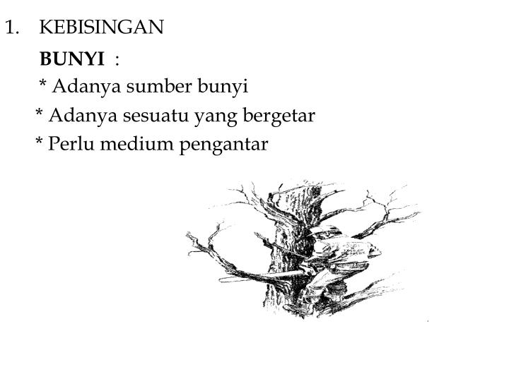 KEBISINGAN