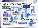 digital paperless work flow