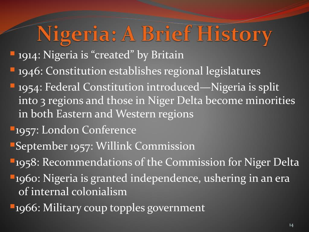Nigeria: A Brief History