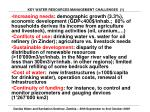 key water resources management challenges 1