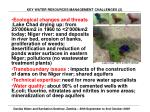 key water resources management challenges 2