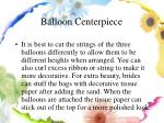 balloon centerpiece9