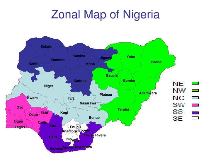 Zonal map of nigeria