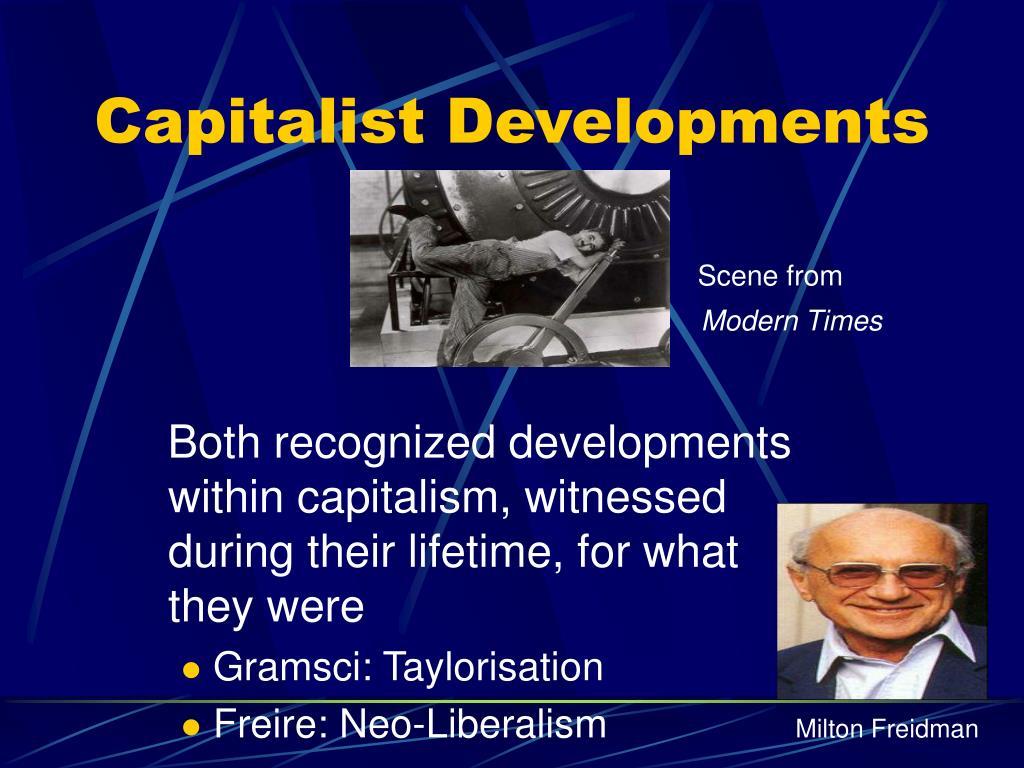 Capitalist Developments