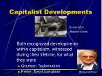 capitalist developments