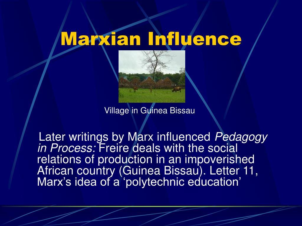 Marxian Influence