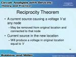 reciprocity theorem3
