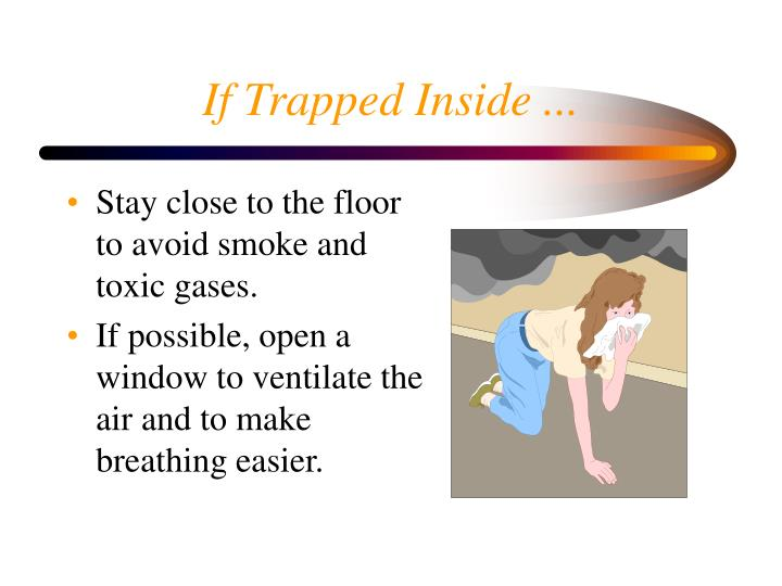 If Trapped Inside ...