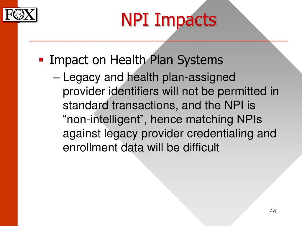 NPI Impacts