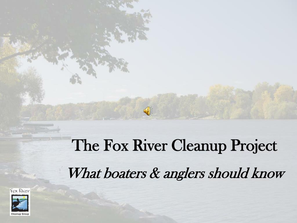 The Fox River Cleanup Project