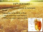 19 th century