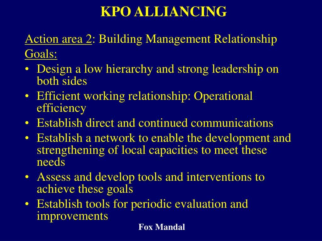 KPO ALLIANCING