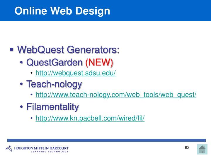 Online Web Design