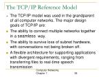 the tcp ip reference model