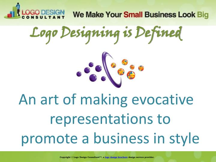 Logo Designing is Defined