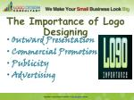 the importance of logo designing