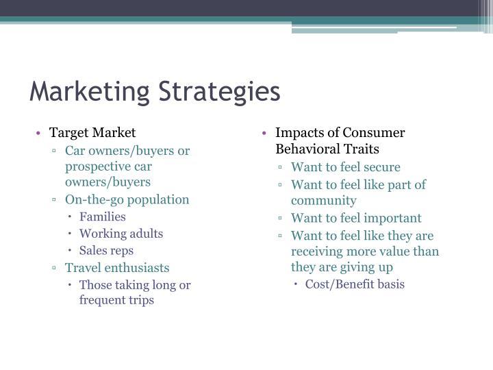 Marketing Strategies