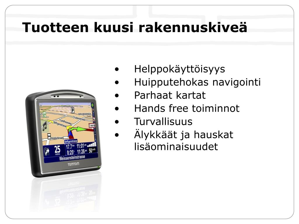 Ppt Uusi Tomtom Go Powerpoint Presentation Free Download Id