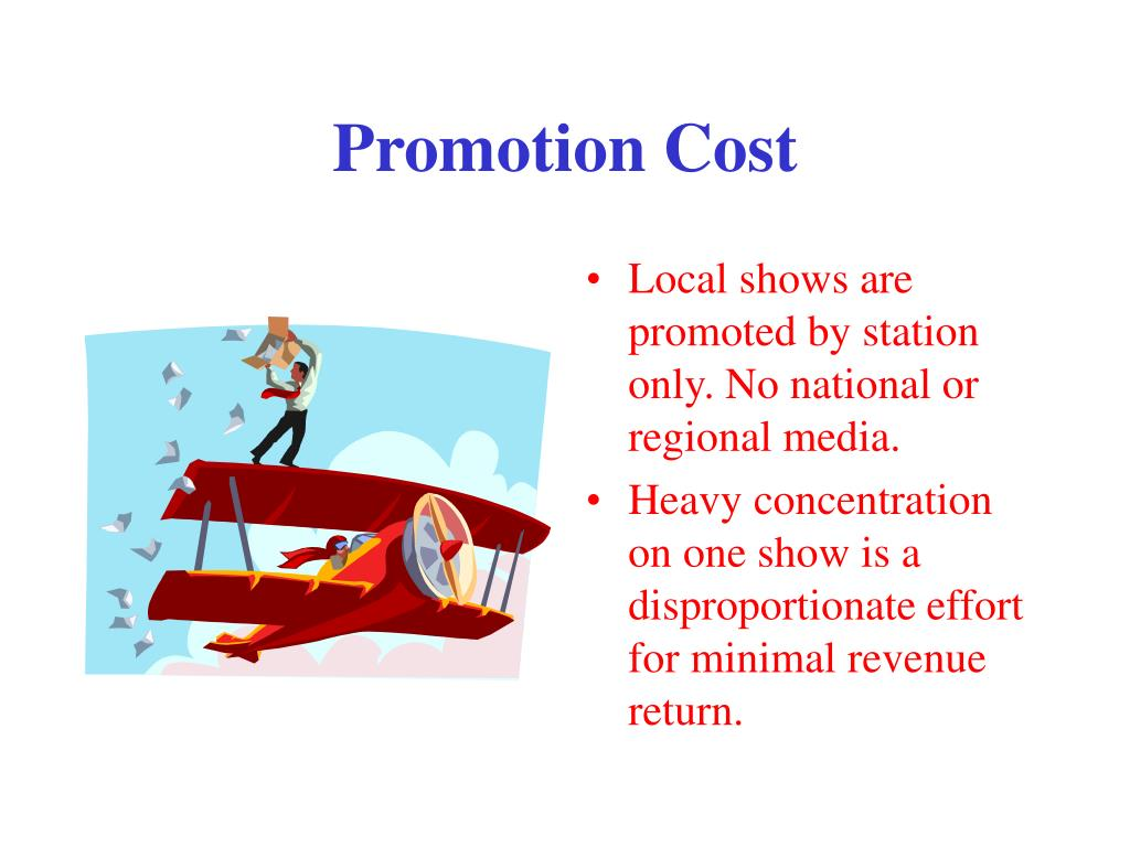 Promotion Cost