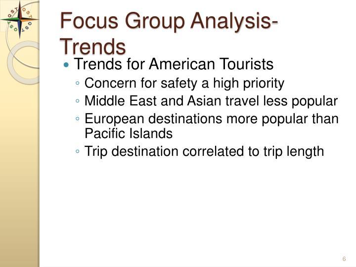 Focus Group Analysis-Trends
