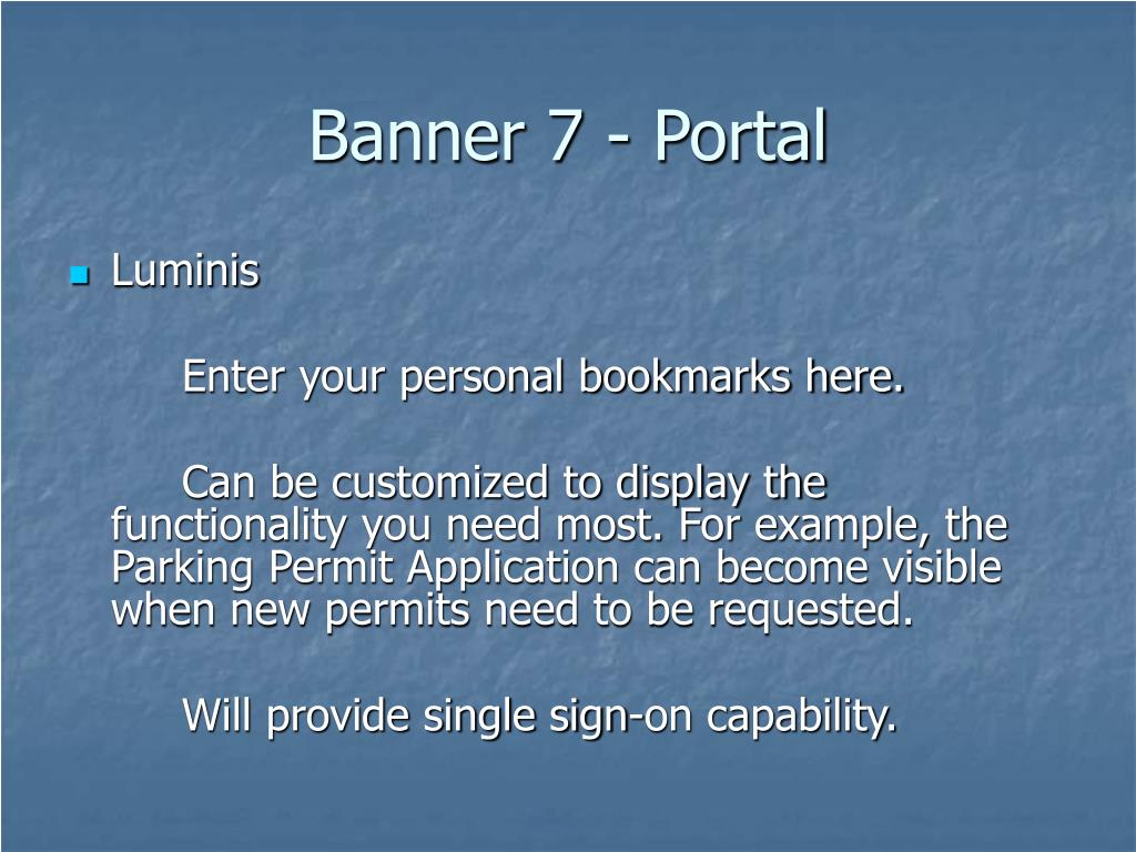 Banner 7 - Portal