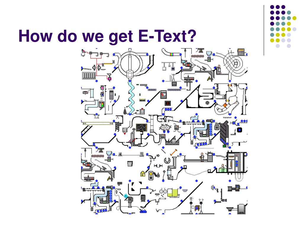 How do we get E-Text?