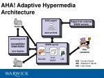 aha adaptive hypermedia architecture